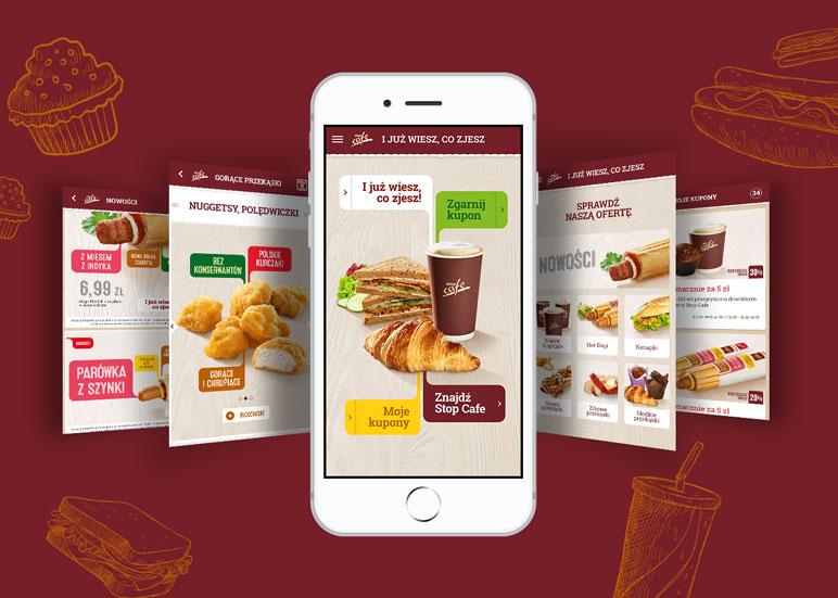 I już wiesz co zjesz! - projekt aplikacji Stop Cafe - Orlen